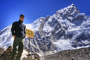 Mt.Everest base camp Nepal
