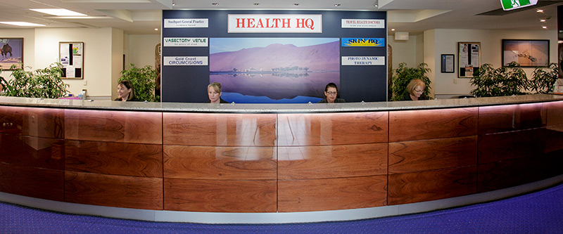 Health HQ receptionists